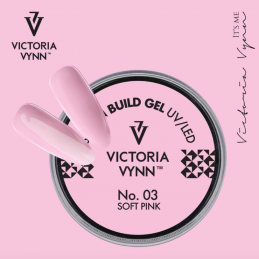 BUILD GEL UV/LED 03 SOFT PINK