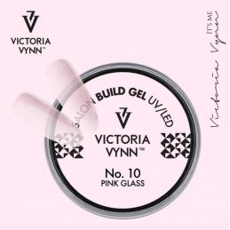 BUILD GEL UV/LED 10 PINK GLASS