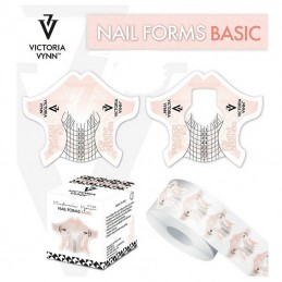 NAIL FORM BASIC PINK 100
